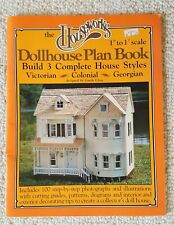 Houseworks Dollhouse Plan Book 3 Complete Styles Victorian - Colonial - Georgian