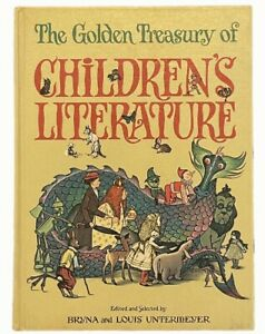 The Golden Treasury of Children's Literature (jacket included but not shown)