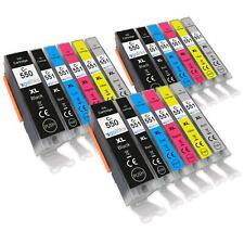 18 Printer Ink Cartridges (6 Set) for Canon PIXMA iP8700, iP8750, MG6340, MG6350