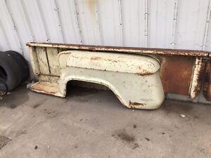 55-59 60-66 Chevy Gmc Truck 8' Bed Stepside Fenders Bedsides Steps Original 1957