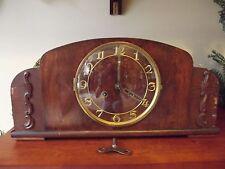 Antique Unmarked German Art Deco Mantel Clock