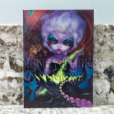Disney Parks The Little Mermaid Ursula 5x7 in Postcard Jasmine Becket-Griffith