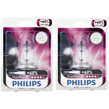 Two Philips VisionPlus Halogen Light Bulb 9003VPB1 for 9003 HB2 12.8V kk