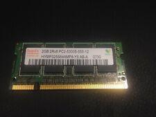 Hynix 2gb 2rx8 Pc2-5300s-555-12 Memory RAM for Laptop 2GB