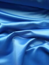 *SALE*HEAVY BLUE DUCHESS SATIN, BRIDAL,WEDDING,200gsm fabric sold/PER METRE/
