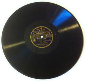 78T LP 78rpm TINO ROSSI C'est à Capri & Le chaland qui passe COLUMBIA