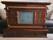 Antique Lifepool Snooker Score Board.