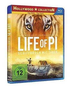 °LIFE OF PI - SCHIFFBRUCH MIT TIGER°Ein Film von Oscar preisträger Ang Lee NEU