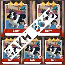 5 x Berly: - Pet Salon Set: - Coin Master cartes (la plus rapide livraison)