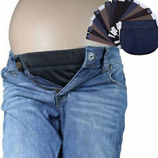 ALS_ Maternity Pregnant Women Waistband Belt Adjustable Pants Waist Extender Rap