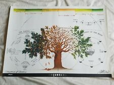 Vintage Sequences of Seasons Art Poster Lithograph By Ken Cato