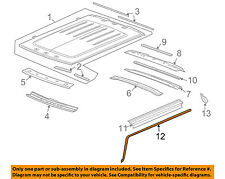 Hummer GM OEM 03-09 H2 Roof-Weatherstrip Seal Right 25868658