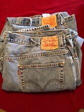 Levi's 550 Men's Denim Jeans 48x30 TWO PAIR!