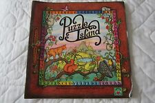 PUZZLE ISLAND SEARCH AND FIND BOOK FUN FOR CHILDREN 1990 DISCOVERY TOYS EASTER!