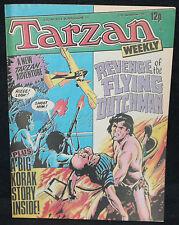 Tarzan Weekly UK Comic - Flying Dutchman - (Grade 8.0) September 17, 1977