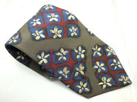 "HUGO BOSS Men's Tie Multi Floral Abstract 100% Silk 3.75"" Width 59"" Length"