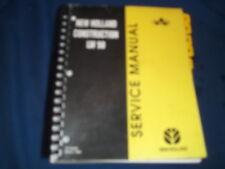 NEW HOLLAND LW50 WHEEL LOADER SERVICE SHOP REPAIR CATALOG BOOK MANUAL