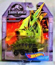 "2018 Hot Wheels Character Cars ""Jurassic World"" Stegosaurus, Ships World Wide"