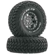 "Duratrax Scaler CR C3 Mounted 1.9"" Crawler Tires Chrome (2)"