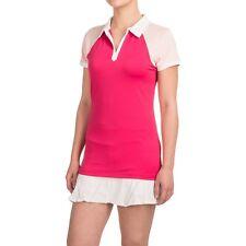Reebok Vernal Polo Shirt Short Sleeve Women's Size S Small Slim Golf Tennis NEW