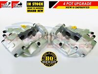FOR AUSTIN PRINCESS ESCORT CAPRI TRIUMPH TR8 4 POT BRAKE CALIPERS NEW UPGRADED