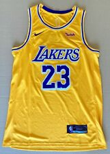Lebron James 23 Los Angeles Lakers Canotta Jersey Basket Nike Nba 2019-20 tg. L