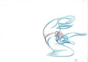 The Rescuers Down Under Bianca Bernard Walt Disney Rough Production Drawing 39