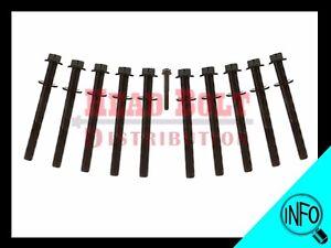 Fit Suzuki J18A J20A J23A Engine Cylinder Head Bolt Set G18K motor (11 pcs kit)