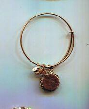Large Tree Of Life Charm Bracelet Alex & Ani Gold Rare Extra