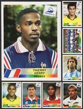 1998 PANINI WORLD CUP FRANCE '98 STICKERS #51-100 - U-PICK CHOOSE LIST