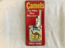 Camel Thermometer Tobacco Sign