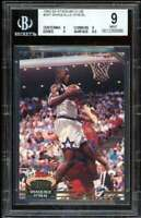 Shaquille O'neal Rookie Card 1992-93 Stadium #247 BGS 9 (9 9 9 9.5)