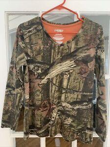 Youths Mossy Oak Break Up Infinity Camo Hunting Shirt Size Large (12-14)