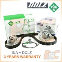 INA DOLZ HEAVY DUTY TIMING BELT KIT & WATER PUMP SET OPEL VIVARO