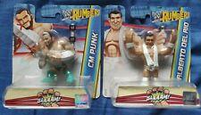 WWE Rumblers CM Punk & Alberto Del Rio - NEW & SEALED