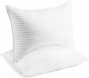 Beckham Hotel Collection Bed Pillows for Sleeping - Queen Size, Set of 2 - Soft