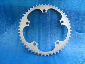 """Sugino 75 144BCD 1/8"""" NJS Chainring 50T Fixed Gear Pista  Matte Finish (105602)"""
