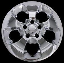 "4 Chrome 2013-2018 Jeep Wrangler 18"" Wheel Skins Hub Caps SnapOn Full Rim Covers"