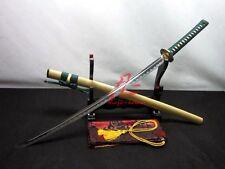 "40.6"" battle ready jp katana sword 9260 spring steel blade sharp Can cut bamboo"