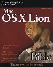 Mac OS X Lion Bible, Galen Gruman, 1118023765, Book, Good