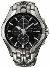 Seiko Mens Chronograph Watch Model- SSC139P-9 Alarm|Chronograph|Date|Multi Dial