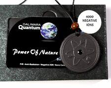 QP1 Quantum Science Pendant 4K Negative Ion Iceland Volcanic Rock Scalar Energy