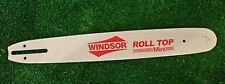 """New 14"""" chainsaw bar, fits saws with 3/8 LP .050 52 DL (bar only) Windsor USA"""