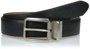 Tommy Hilfiger Men's Premium Leather Reversible Belt Tan/Black 11Tl02X133