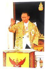 """Aufkleber sticker König king Bhumibol """"Der Große"""" RAMA IX Thailand 25,5x16cm"""