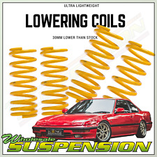 KING SPRINGS 30MM LOW HONDA PRELUDE BA4 LOWERING COILS x 4