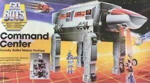 Vintage Go Bots Command Center VTM Virtual Transportation Module w/Sticker 1984