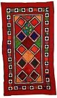 Handmade vintage Uzbek Suzani patchwork 4,2' x 7,4' ( 129cm x 227cm) 1960 - 1C46