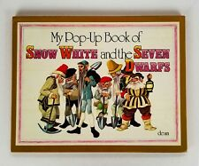 Pop Up Book Snow White & The Seven Dwarfs Anne Grahame Johnstone Vintage DEAN