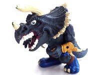 Figurine action figure toys Extrêmes Dinosaures Dino 1996 MATTEL 12x15 cm